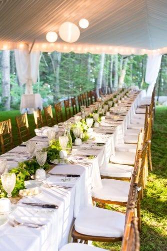 summer wedding maine