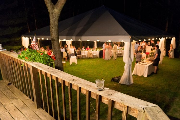 summer home wedding