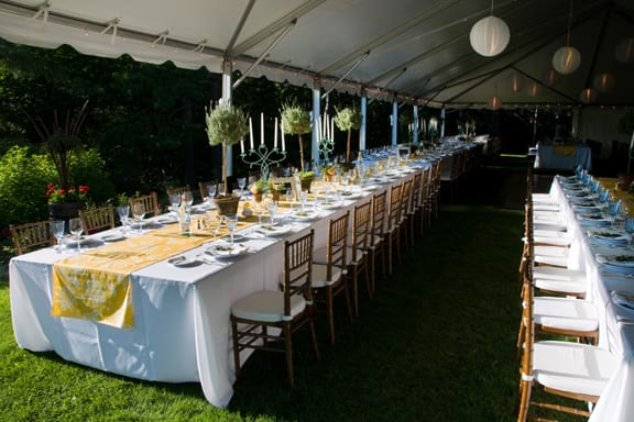 family style tables