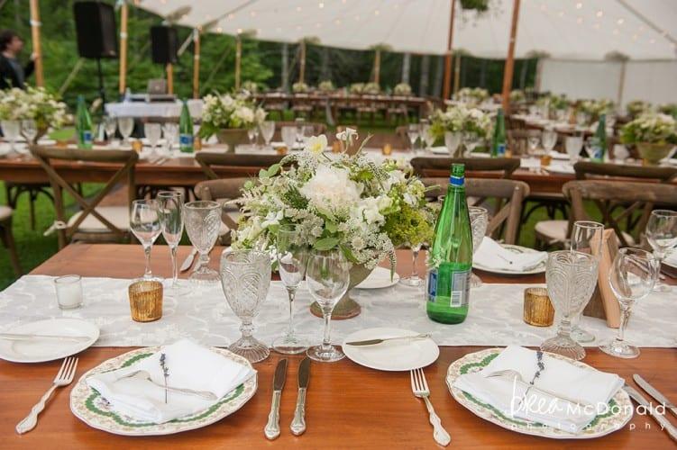classic summer wedding
