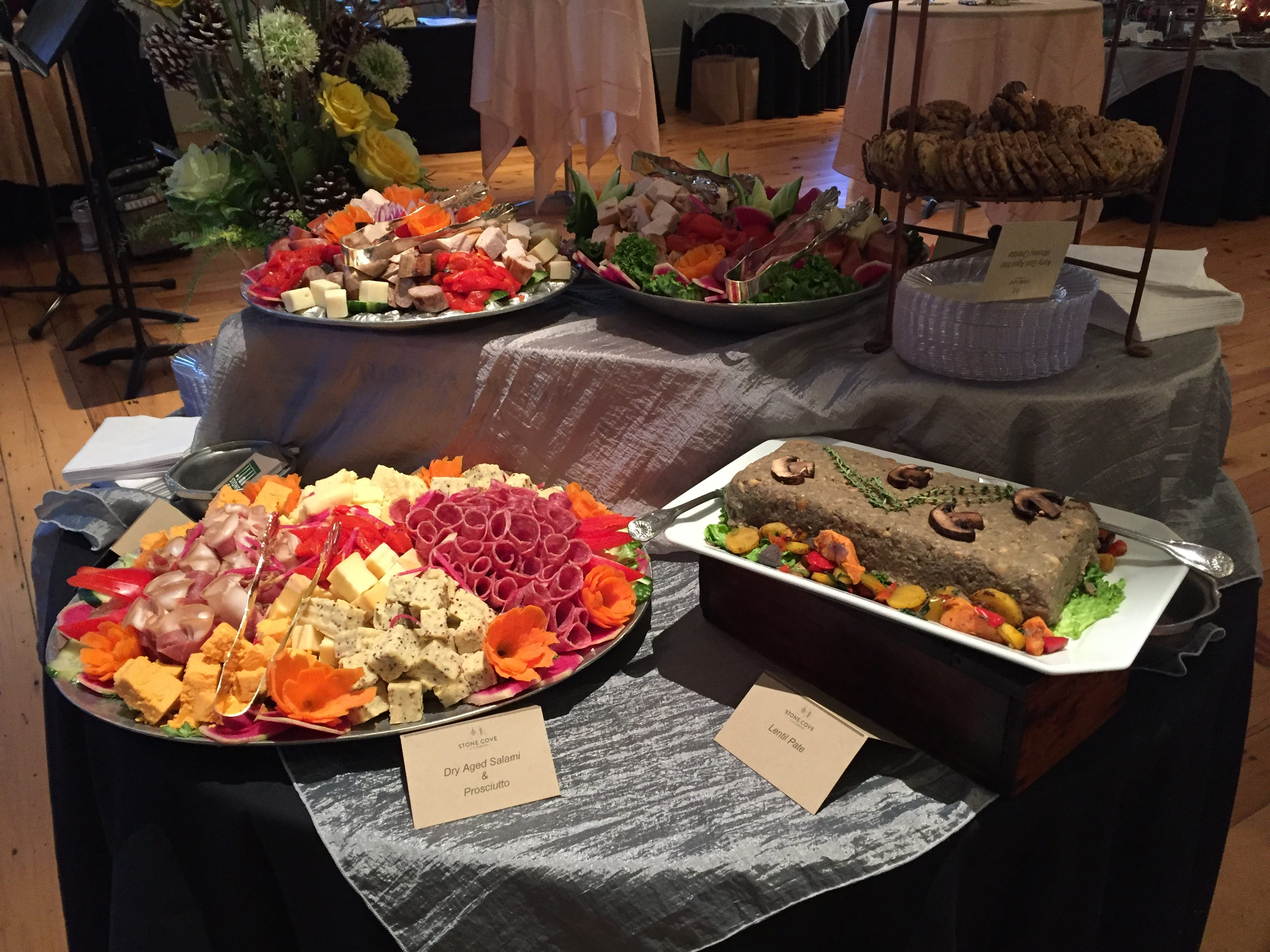 antipasto display   event catering