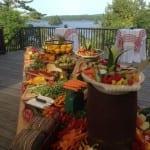farm table display