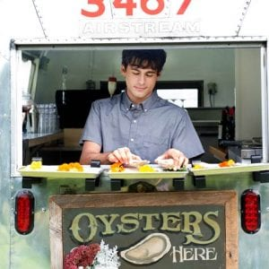 Vintage Airstream Oysters